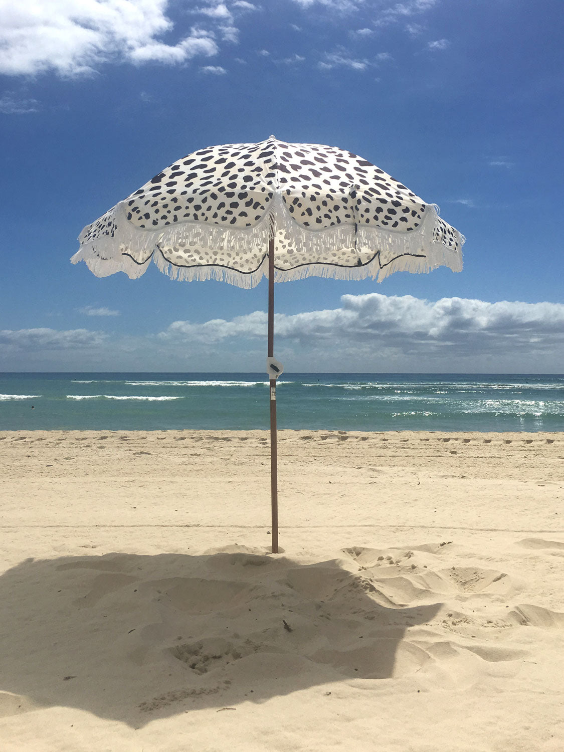 African Textile Beach Umbrella - FREE SHIPPING