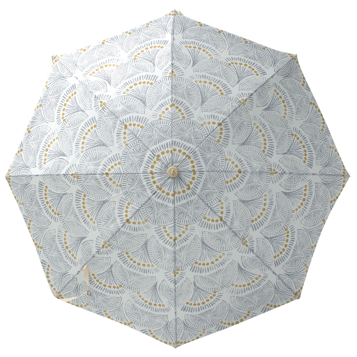 Slate Block Print Premium Beach Umbrella