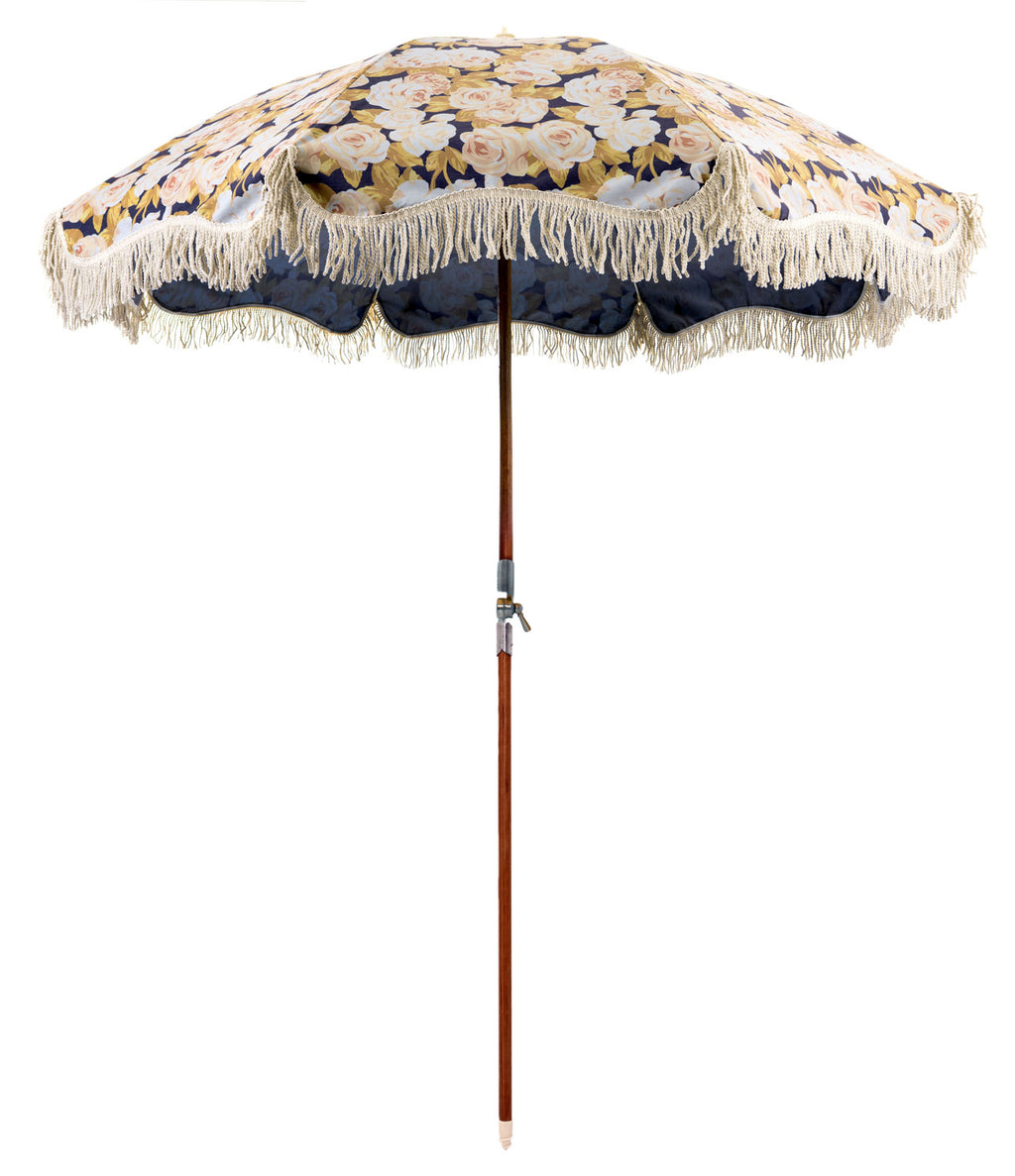 The Premium Beach Umbrella - Faded Rose
