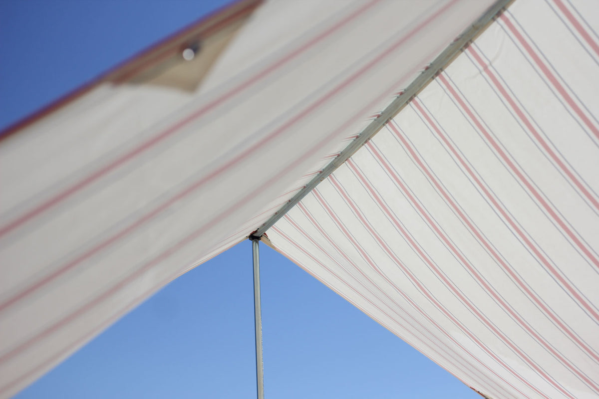 French Stripe Beach Tent