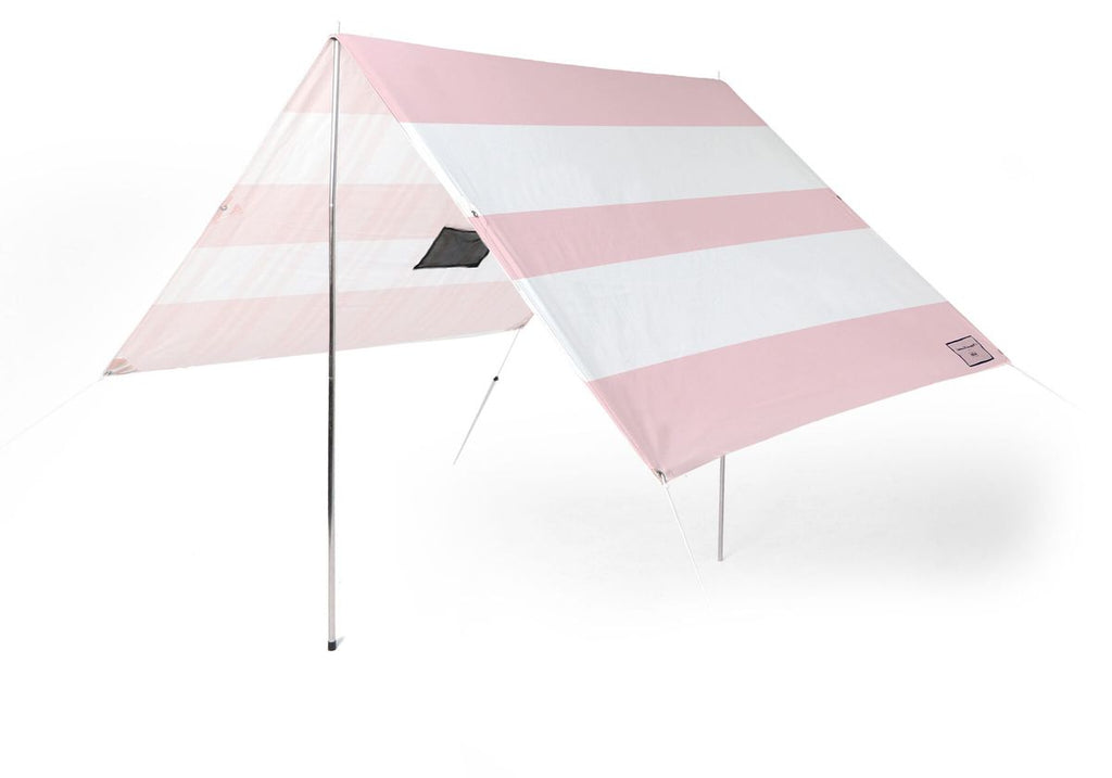 Pink Stripe Holiday Beach Tent