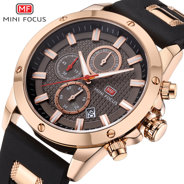 Mens Watches Luxury Brand MINIFOCUS Sports