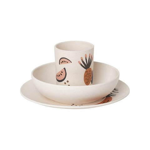 Fruiticana Bamboo Dinner Set