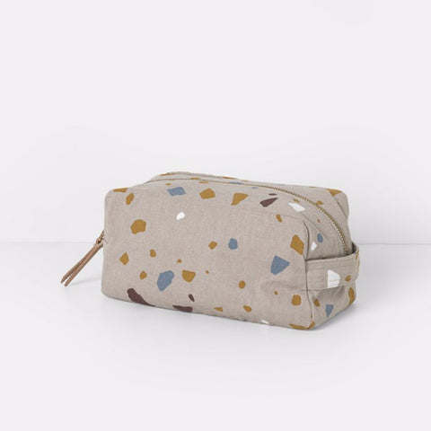 Terrazzo Rose Toiletry Bag