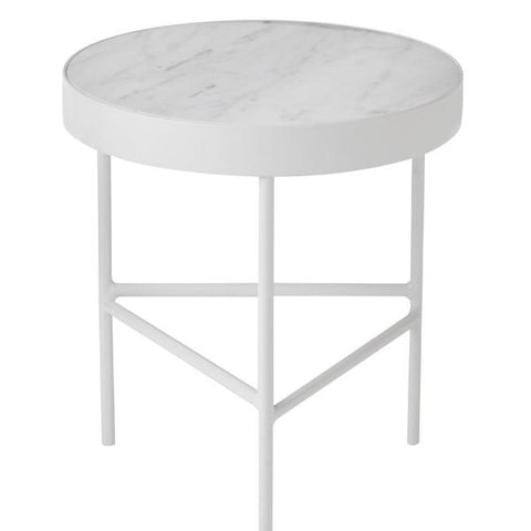 Marble table - White