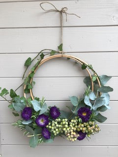 Summer Wreath Making with Birch & Bloom: Sat 2nd June