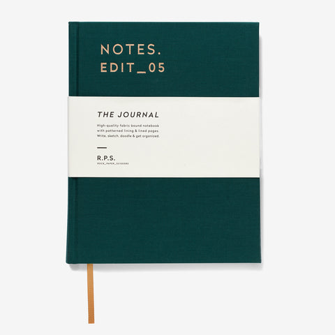 Hardback Journal | Forest Green