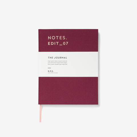Hardback Journal | Burgundy