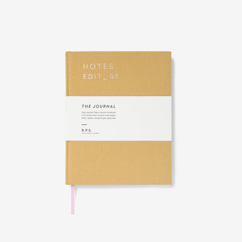 Hardback Journal | Ochre