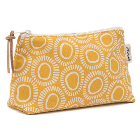 SOLAR wash bag - yellow