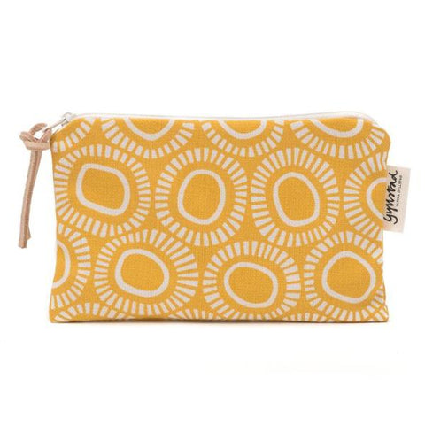 SOLAR makeup purse - YELLOW