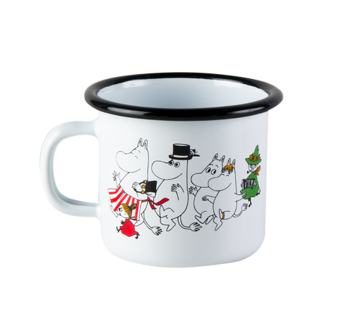 Moomin Valley mug, small