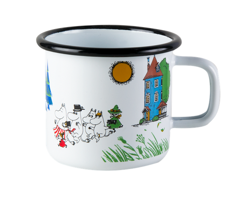 Moomin Valley mug, large