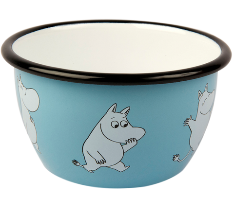 Moomin cereal bowl