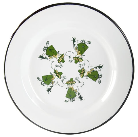 Moomin Friends Plate