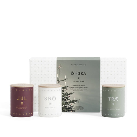 Onska Scented Candle Gift Set