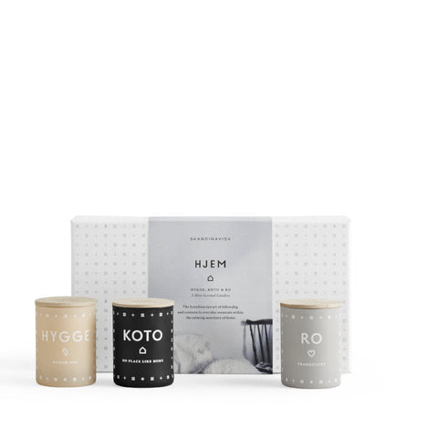 Hjem Scented Candle Gift Set