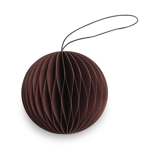 Scoop Shaped Paper Decoration (Chocolate)