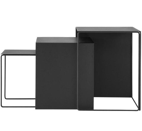 Cluster Tables - Black