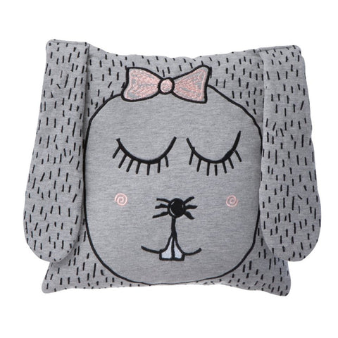 Little Ms Rabbit Cushion