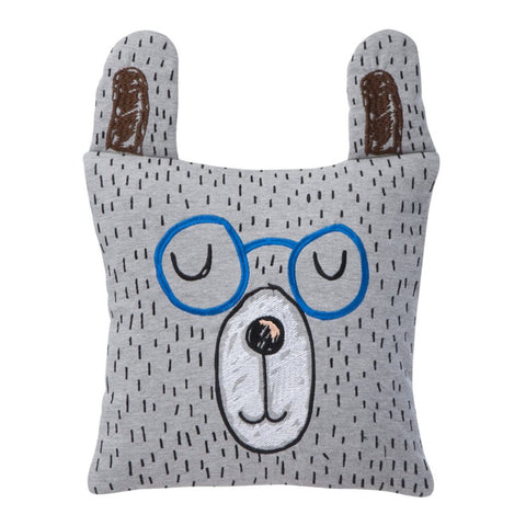 Little Mr Teddy Cushion