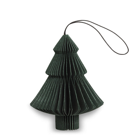 Tree Shaped Paper Decoration (Green)