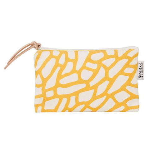 DELTA makeup purse - YELLOW