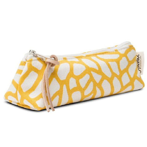 DELTA pencil case - yellow