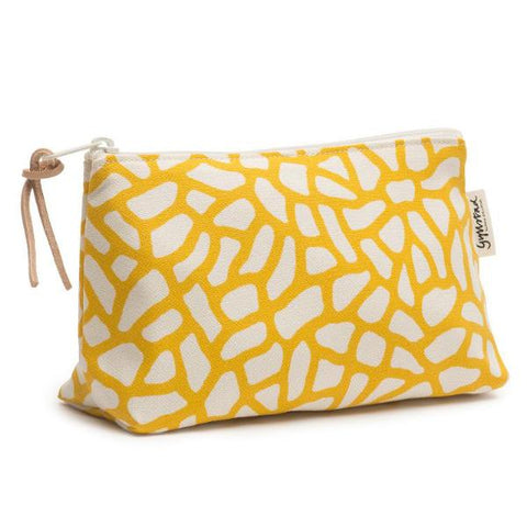 DELTA wash bag - yellow