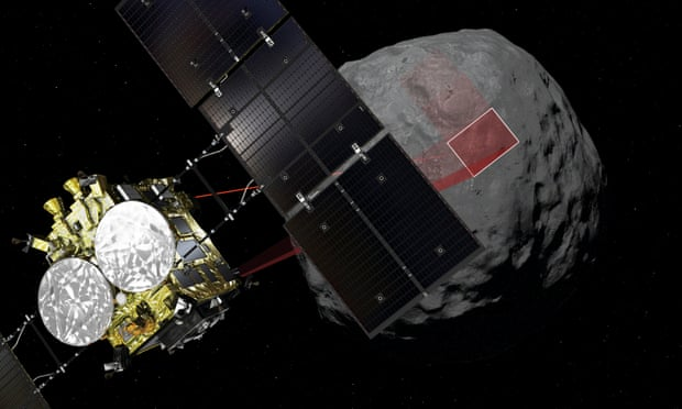 "Japan Bombs defenseless Asteroid for ""Science"""