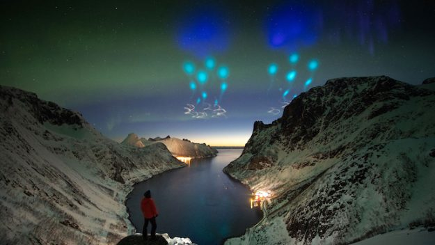 """Alien Invasion"" Hits Norway, Is Beautiful."