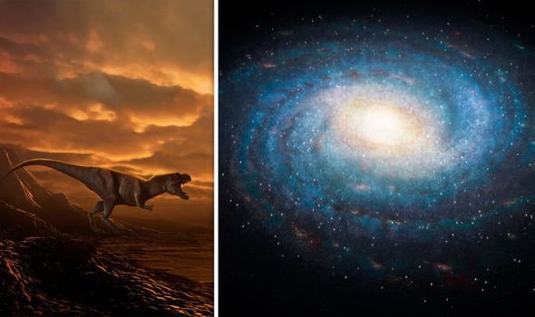 Aussie Explains How Dinosaurs Come From All Over The Galaxy, But Aren't Aliens...