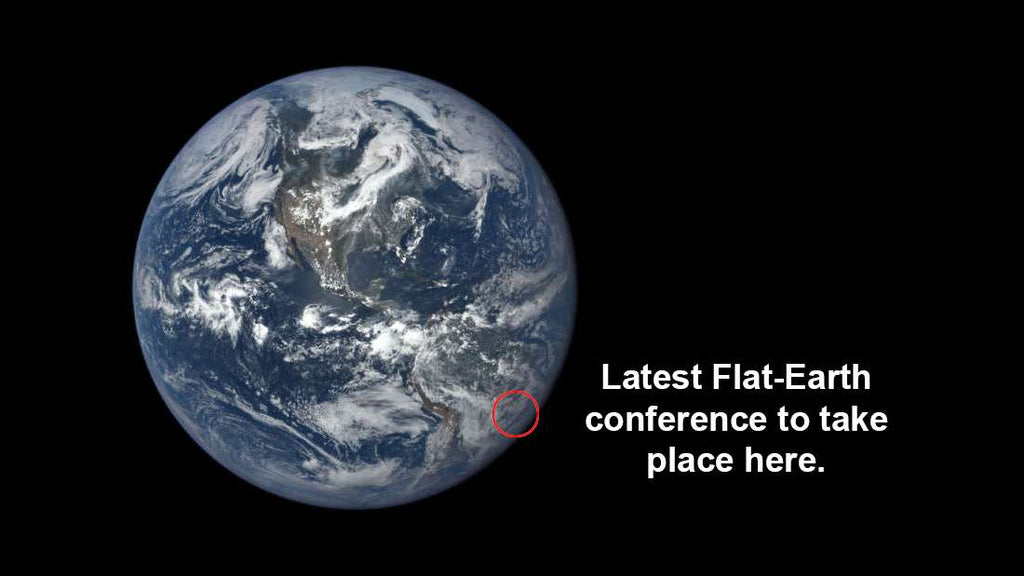 Flat Earthers Unite On One Of Our Roundest Continents.