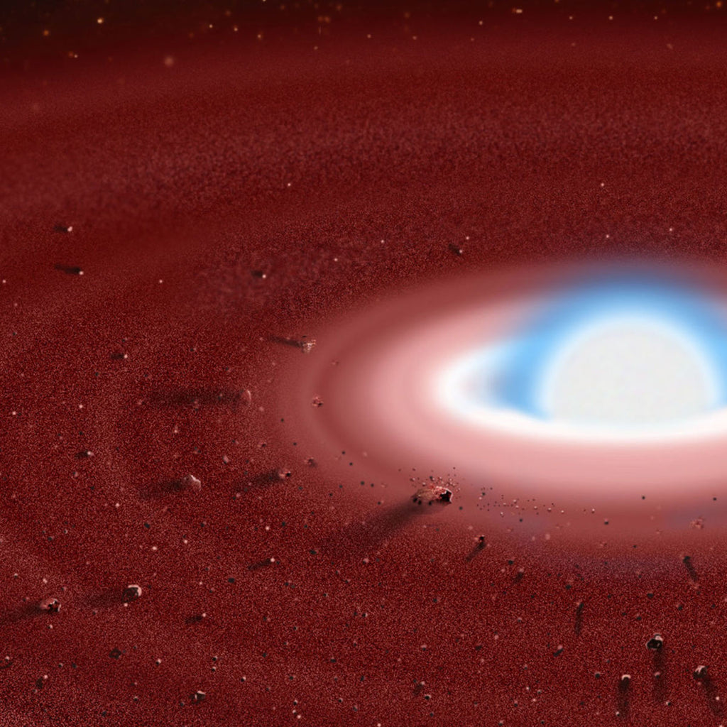 A Dead Star Is Eating Its Own Planets