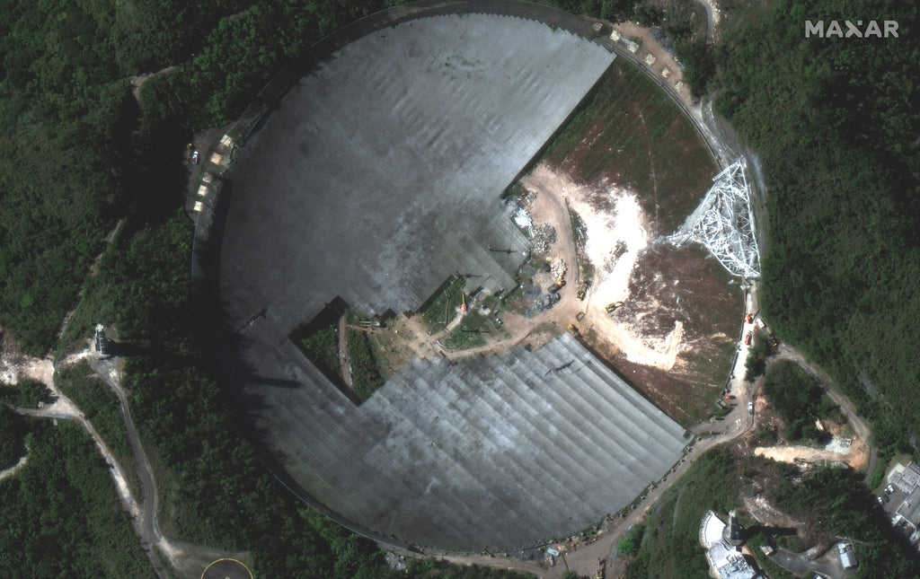 Arecibo Observatory Clean Up Has Us Feeling The Feels