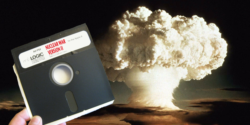 The United States finally upgraded their floppy disk nuclear program.