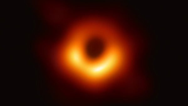 The black hole within galaxy M87 as shown by the EHT
