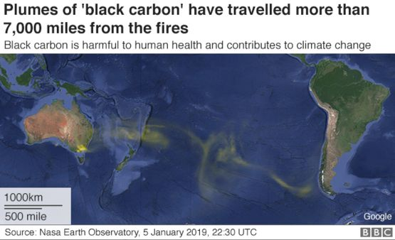 The smoke from Australian bushfires has affected New Zealand's air quality.
