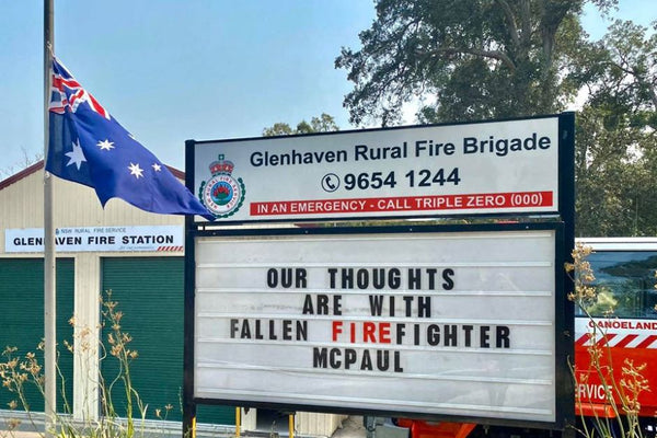 Three volunteer fire fighters have lost their lives in the fires.