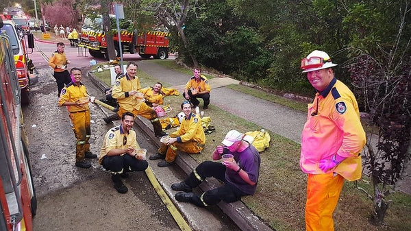 Australian firefighters are testament to the Australian spirit