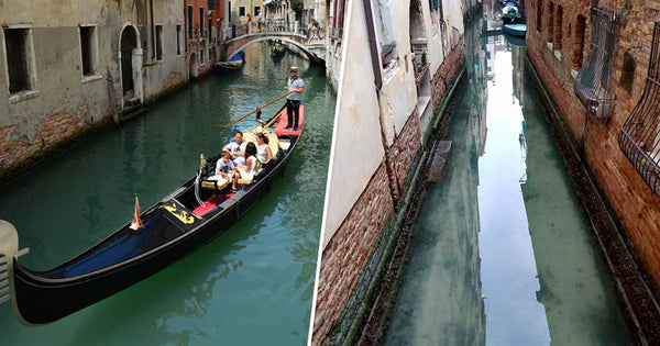 Venice's canals are crystal clear in the wake of quarantine.