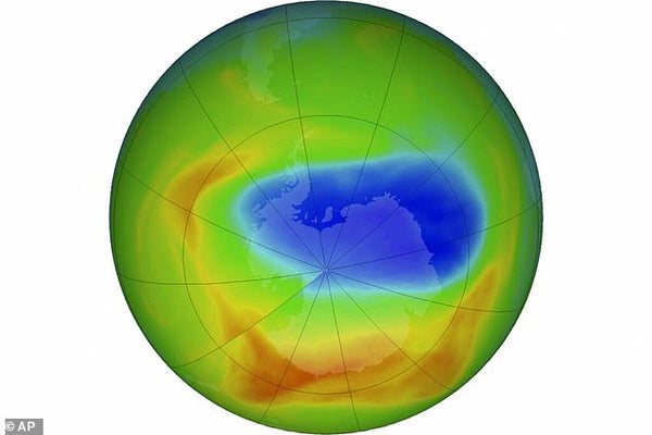 Earths Ozone layer is reparing