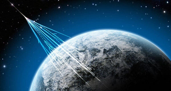 High energy particles from space suggest alternate universe
