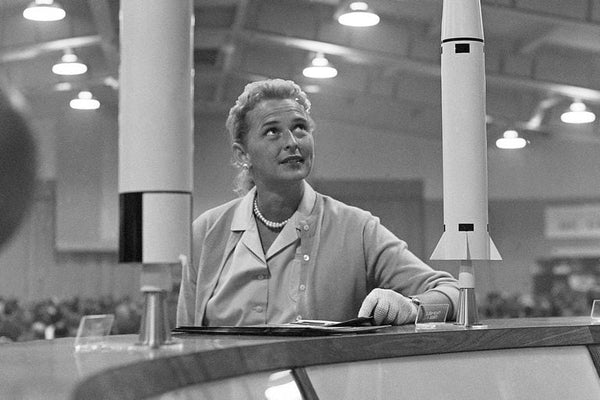 Jerrie Cobb would have been the first woman in outer space.