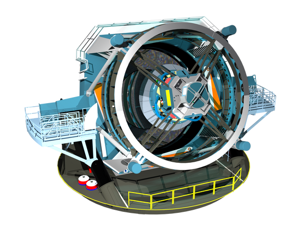 The Large Synoptic Survey Telescope (LSST) will have a 3.2 gigapiel camera for imaging space