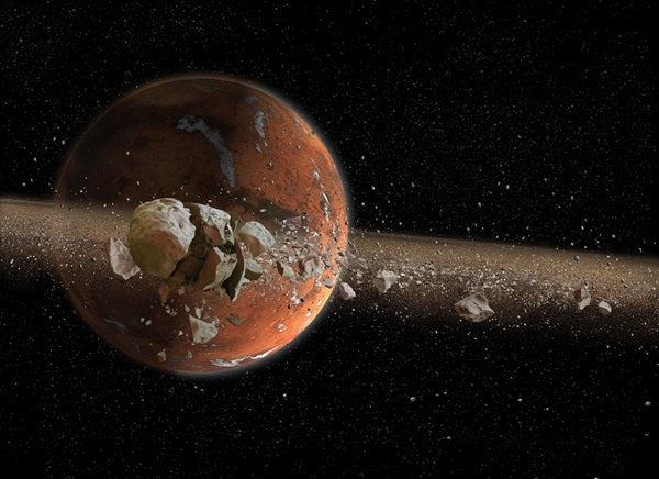 Ancient Mars has been theorised to have had rings
