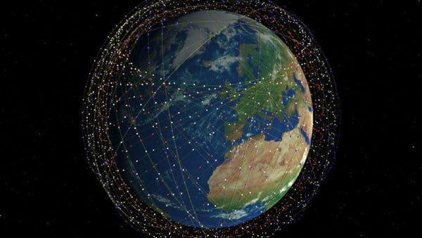 Starlink setwork concept with 10000 satellites
