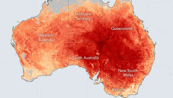 Australia is facing its hottest december ever