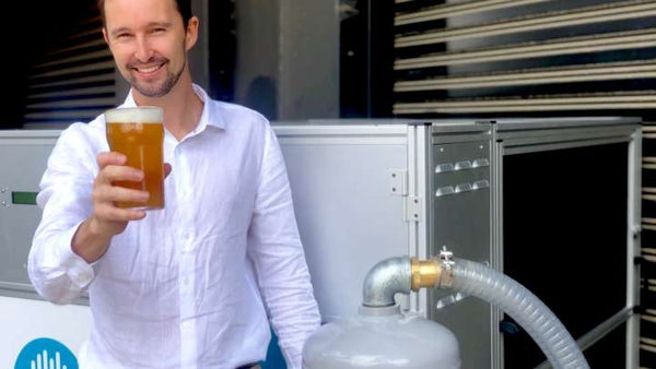 Airthena by the CSIRO may be able to make beer from carbon emissions in the atmosphere.