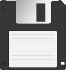 A floppy disk similar to what the US military used for their nuclear program.